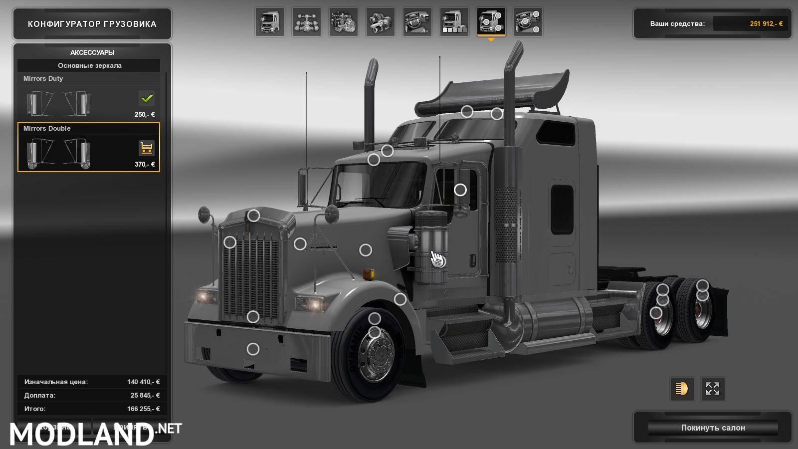 Kenworth W900 mod for ETS 2