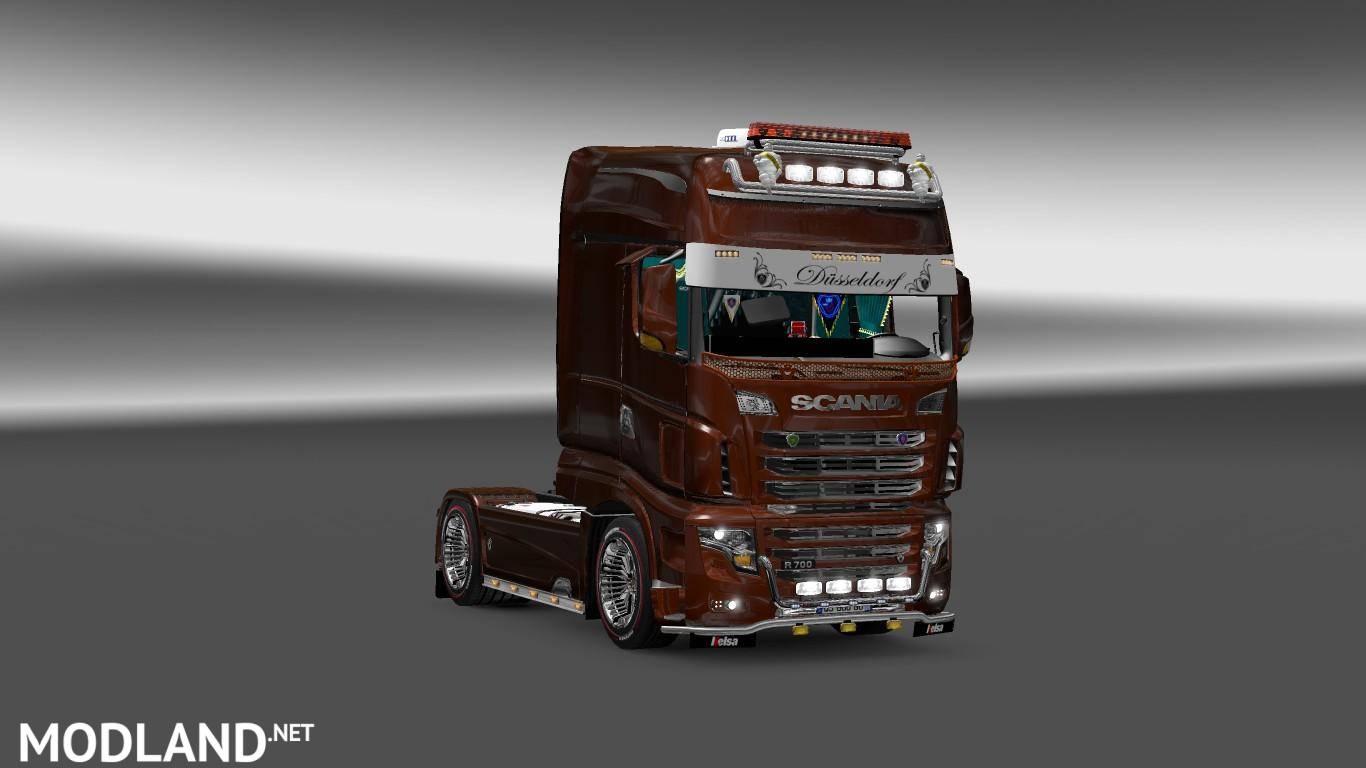 Scania R700 v2 1.21 mod for ETS 2 Scania Trucks Interior