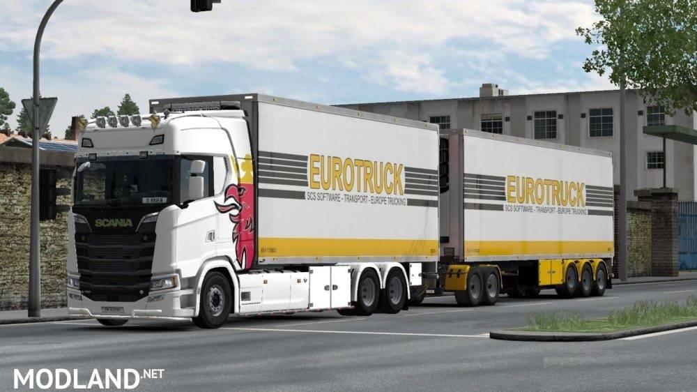 BDF Tandem Truck Pack v100 0 (1 32+) mod for ETS 2