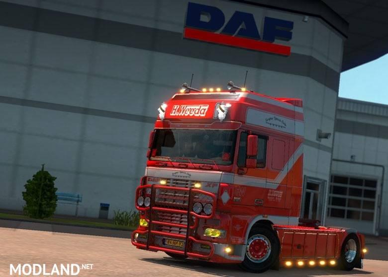 DAF XF 95 H Weeda mod for ETS 2