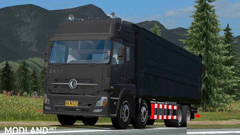 Dongfeng Dump Truck mod for ETS 2