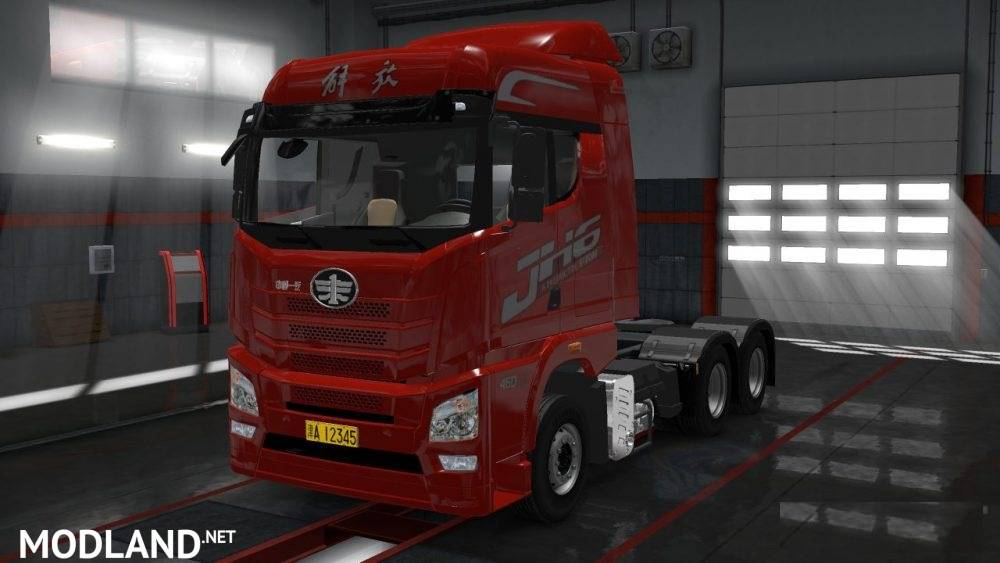 Volvo Truck Dealer >> FAW JH6 Beta mod for ETS 2