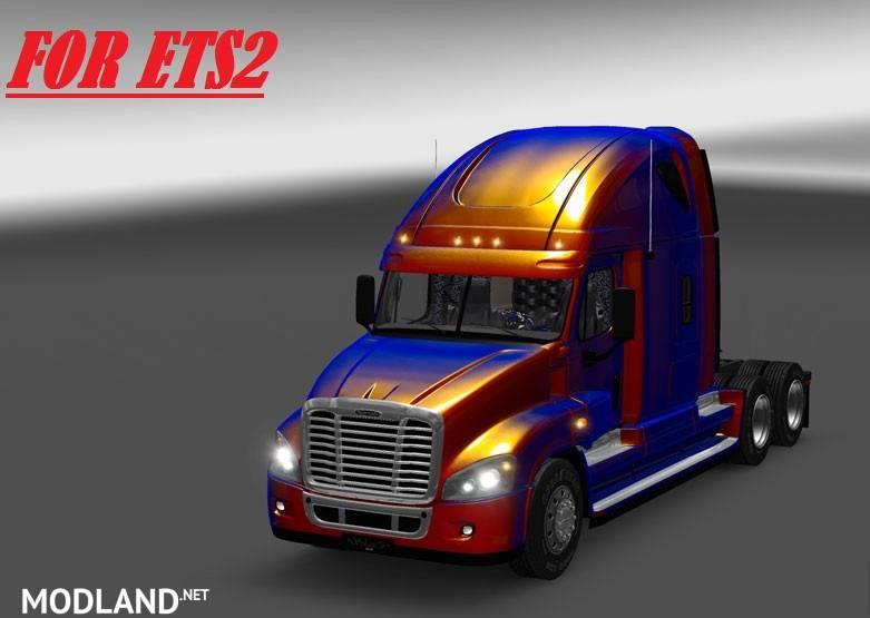 Freightliner Cascadia V2 1 24 Edited By Solaris36 Mod For