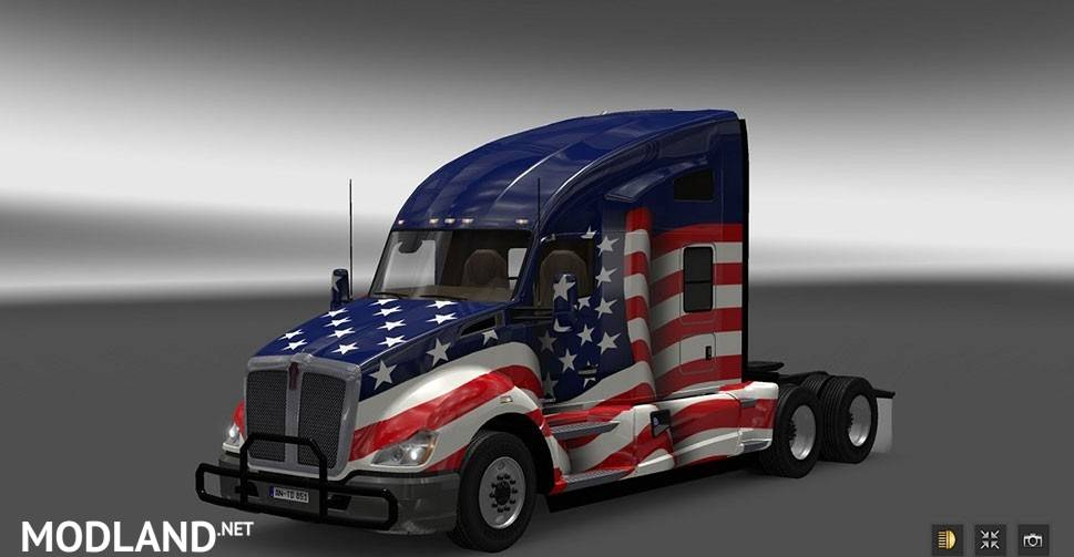 Mercedes Net Worth >> Kenworth T680 from ATS for ETS2 mod for ETS 2