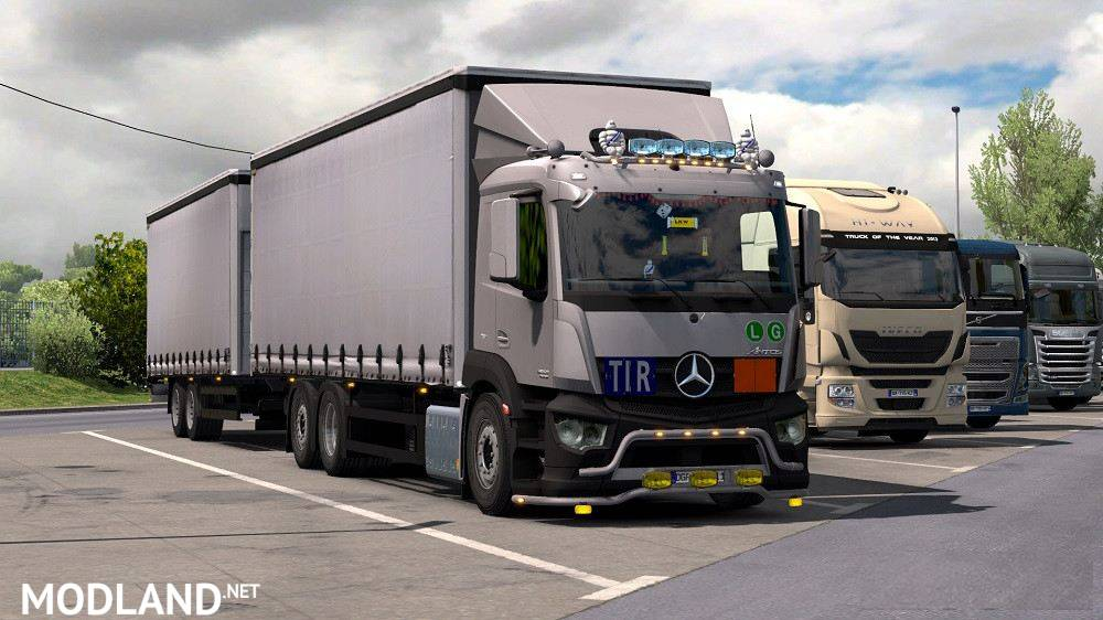 Mercedes Antos '12 v 1 2 0 123 r 1 35 1 150 mod for ETS 2