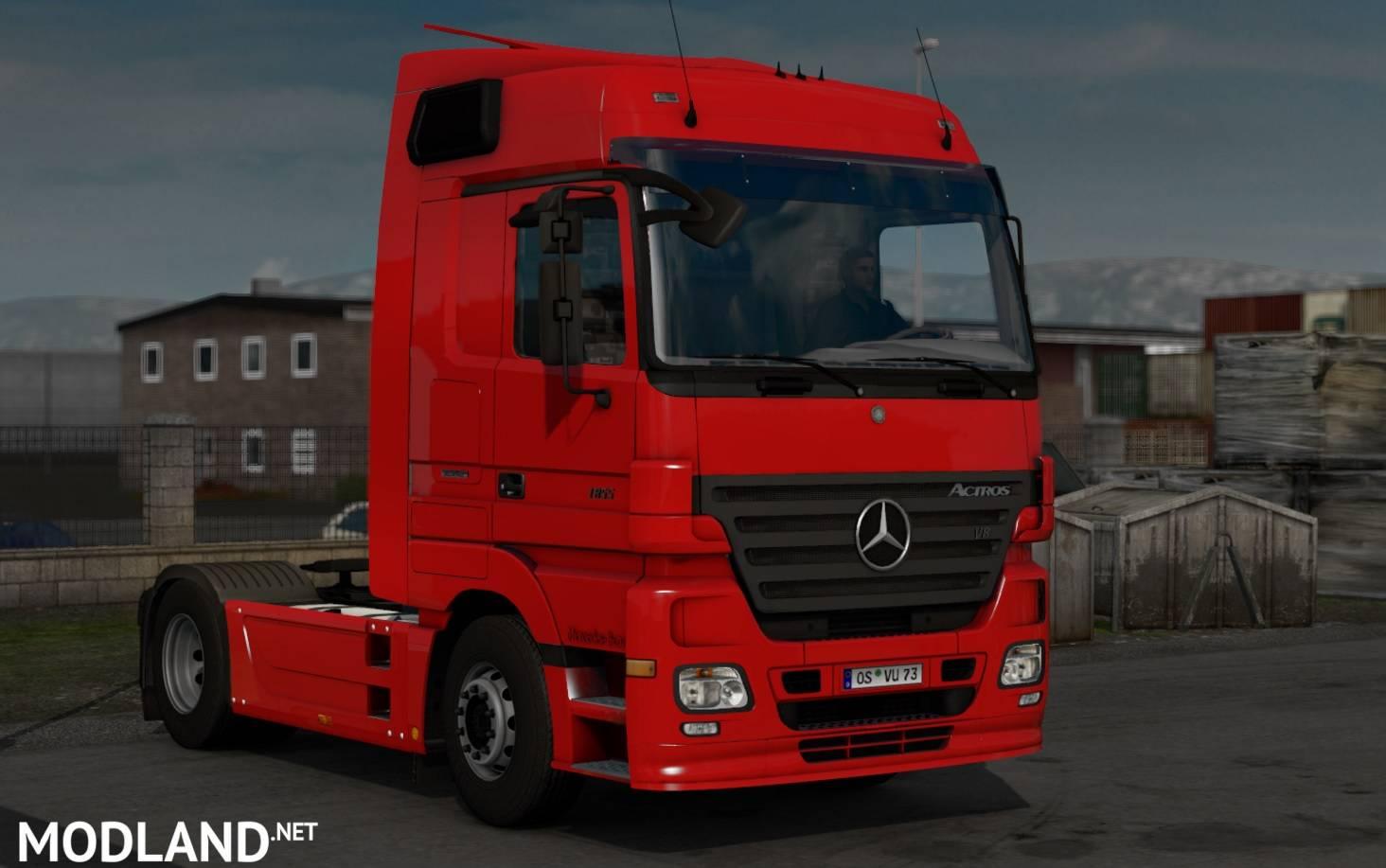 Shelby Ford Trucks >> Mercedes-Benz Actros MP2 v 1.0 mod for ETS 2