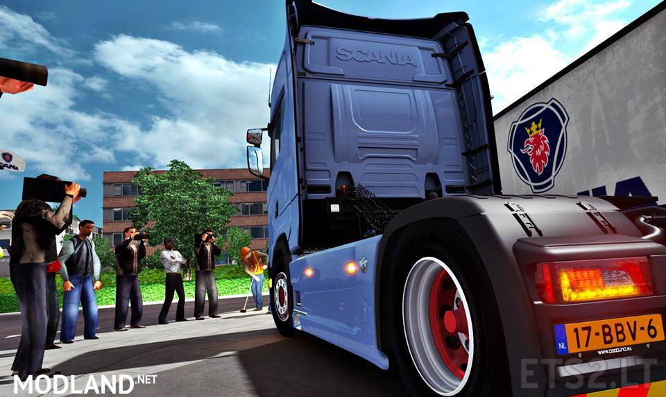 Scania S730 - NEXT GENERATION (OFFICIAL MOD) mod for ETS 2