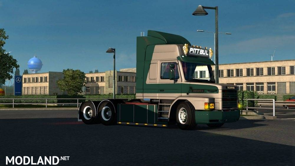 Seat Skins For Trucks >> Scania 143 Torpedo mod for ETS 2