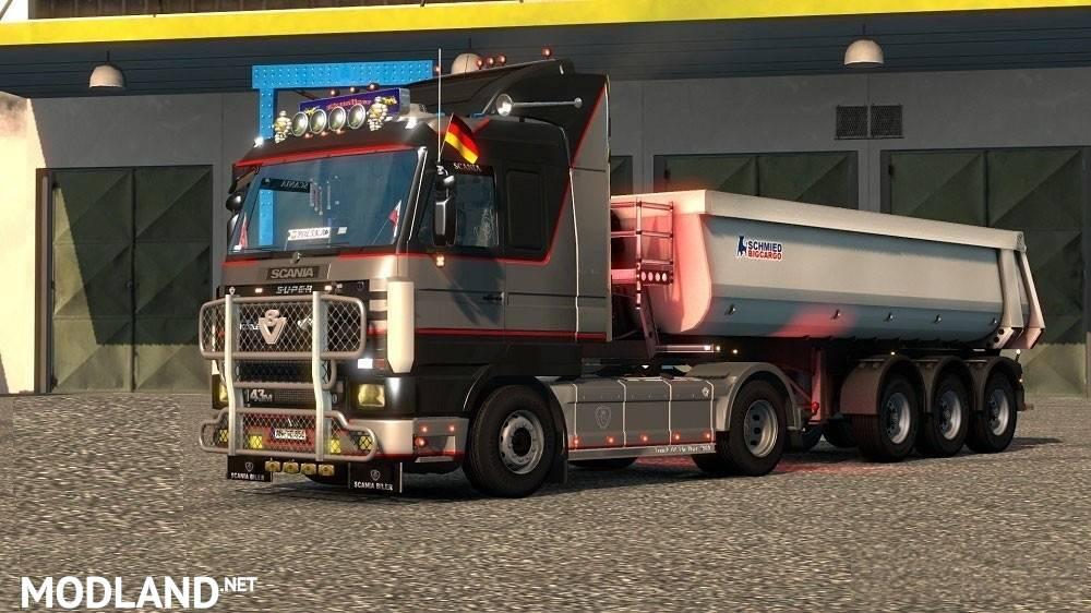 Scania 143M v5 0 [1 31] mod for ETS 2