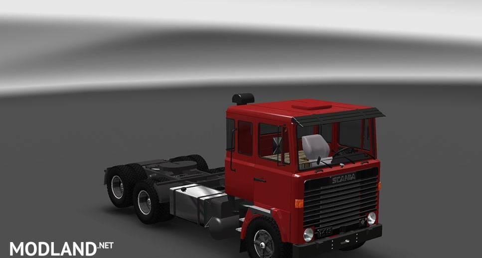 Scania LK 140 V8 mod for ETS 2