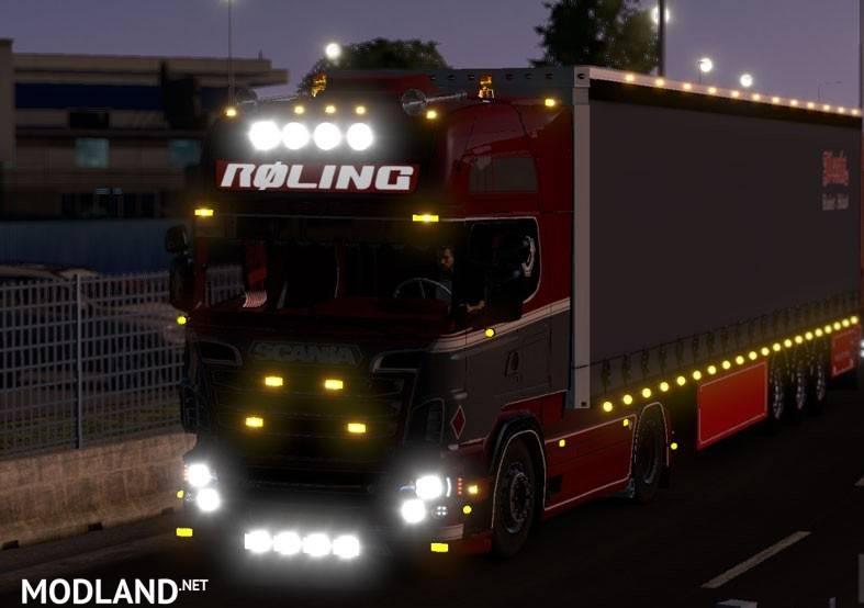 Volvo Truck Dealer >> Scania R500 Roling + Weeda Trailer mod for ETS 2
