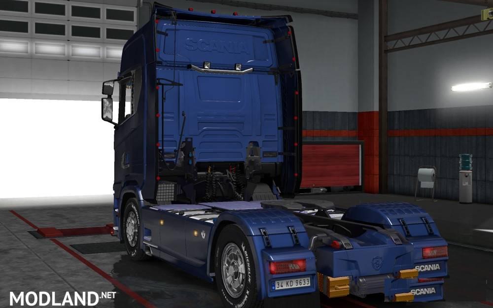 Scania S Series + Interior v 1.0 mod for ETS 2