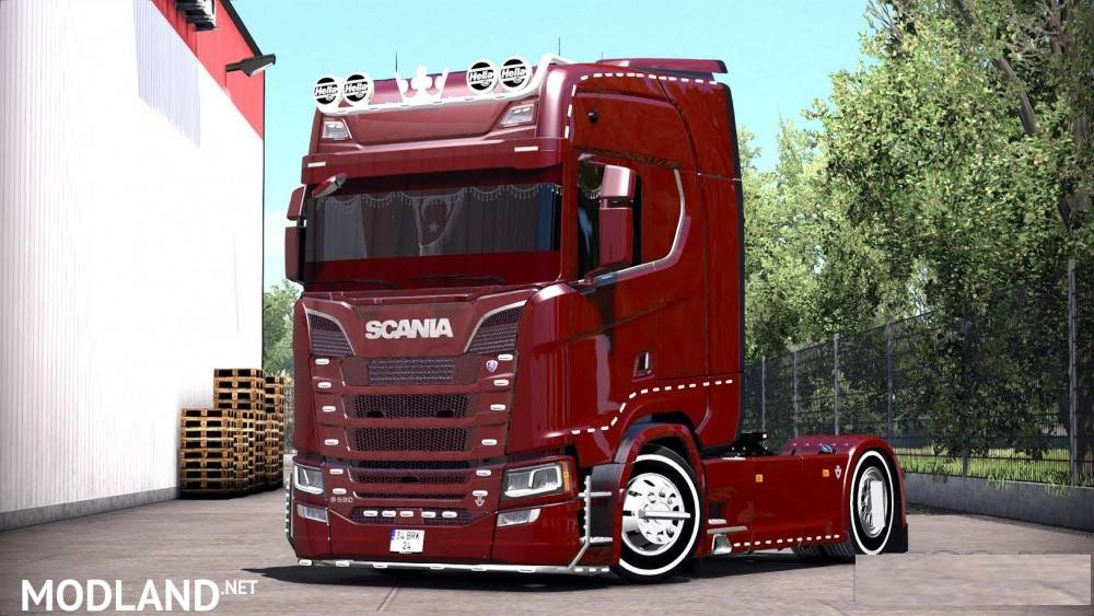 Scania S Series Turkish Job Mod For Ets 2