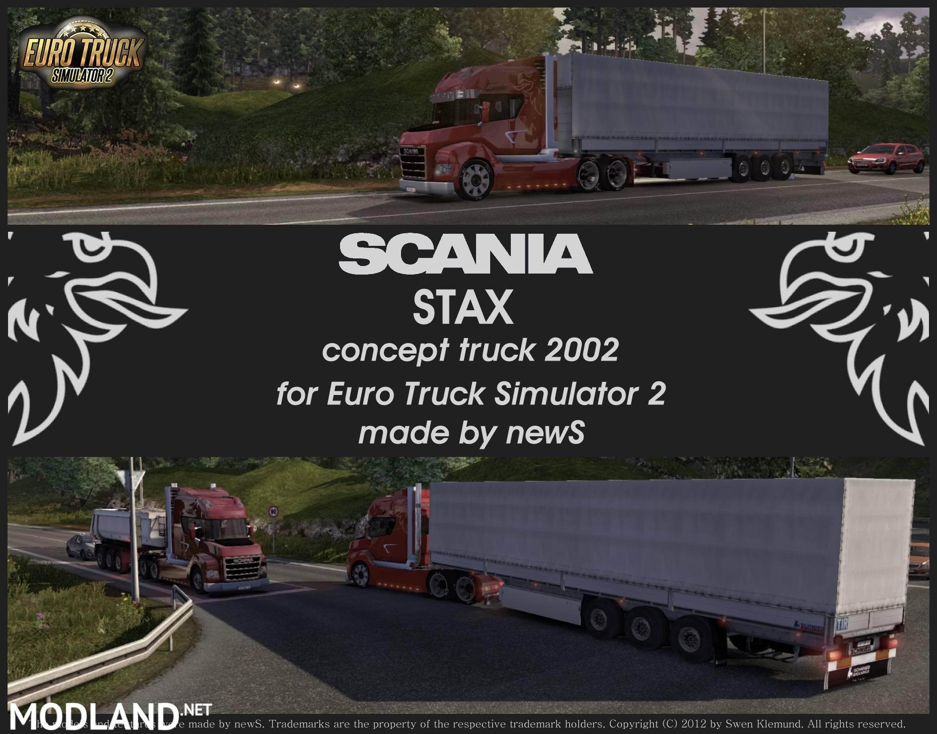 scania stax mod for ets 2. Black Bedroom Furniture Sets. Home Design Ideas