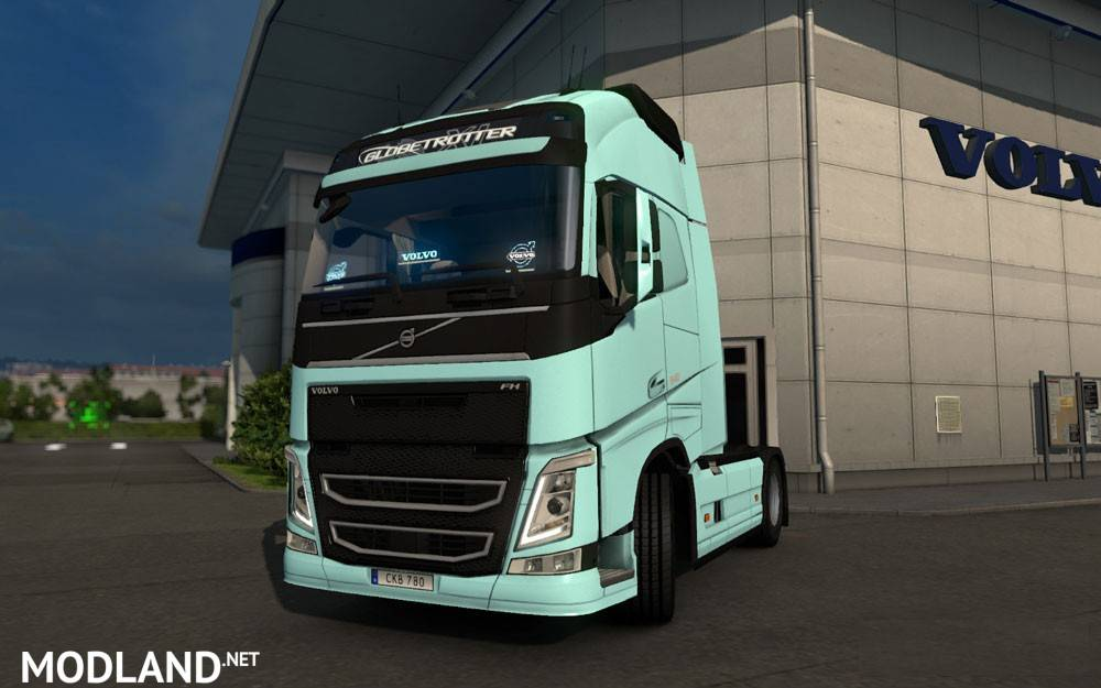 Volvo FH & FH16 2012 Reworked v 2.7 mod for ETS 2