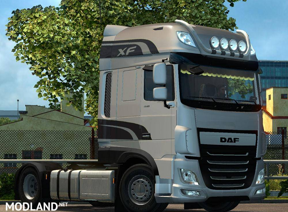 daf xf 106 ssc mod for ets 2. Black Bedroom Furniture Sets. Home Design Ideas