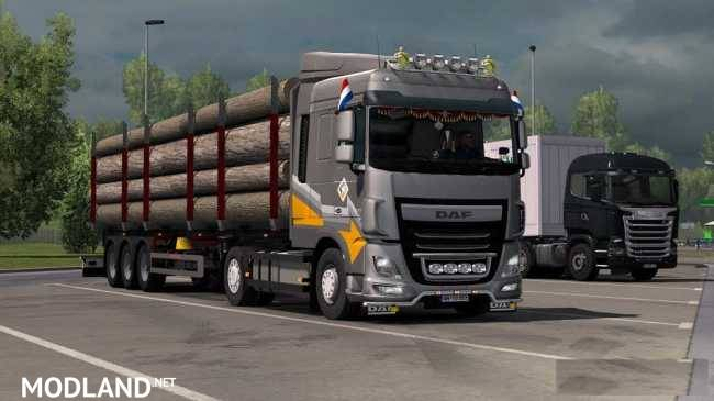 Daf XF Euro 6 Reworked v2 4 [Schumi] [1 32] mod for ETS 2