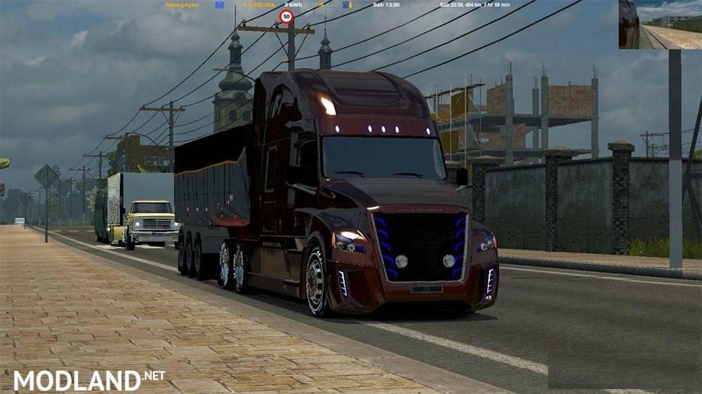 Truck Daimler Freightliner Inspiration V 3 0 Ets2 1 24