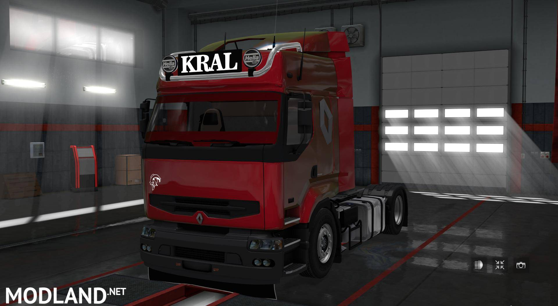 Scania S730 with interior 2.0 mod for ETS 2