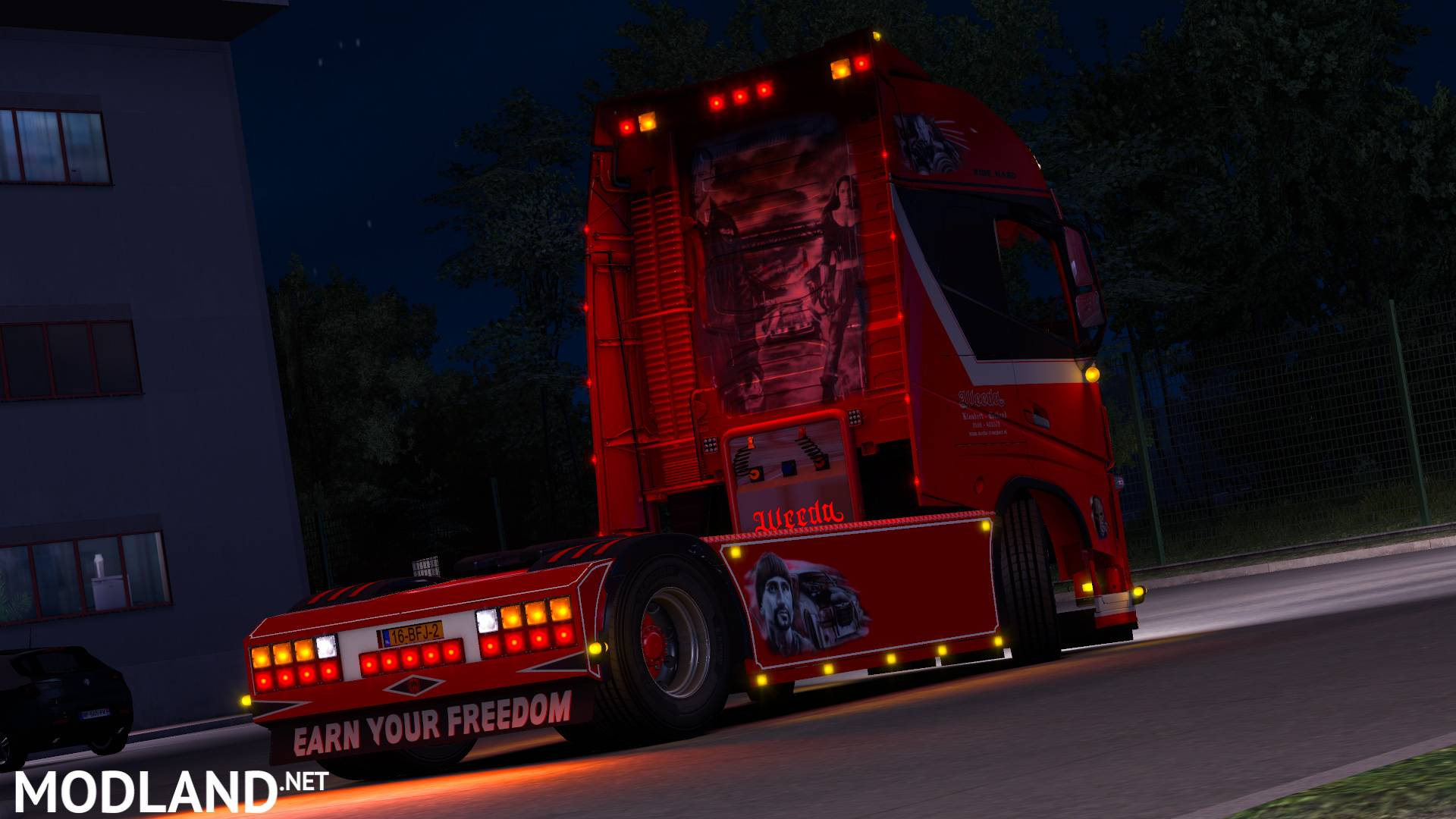 Volvo FH Weeda mod for ETS 2