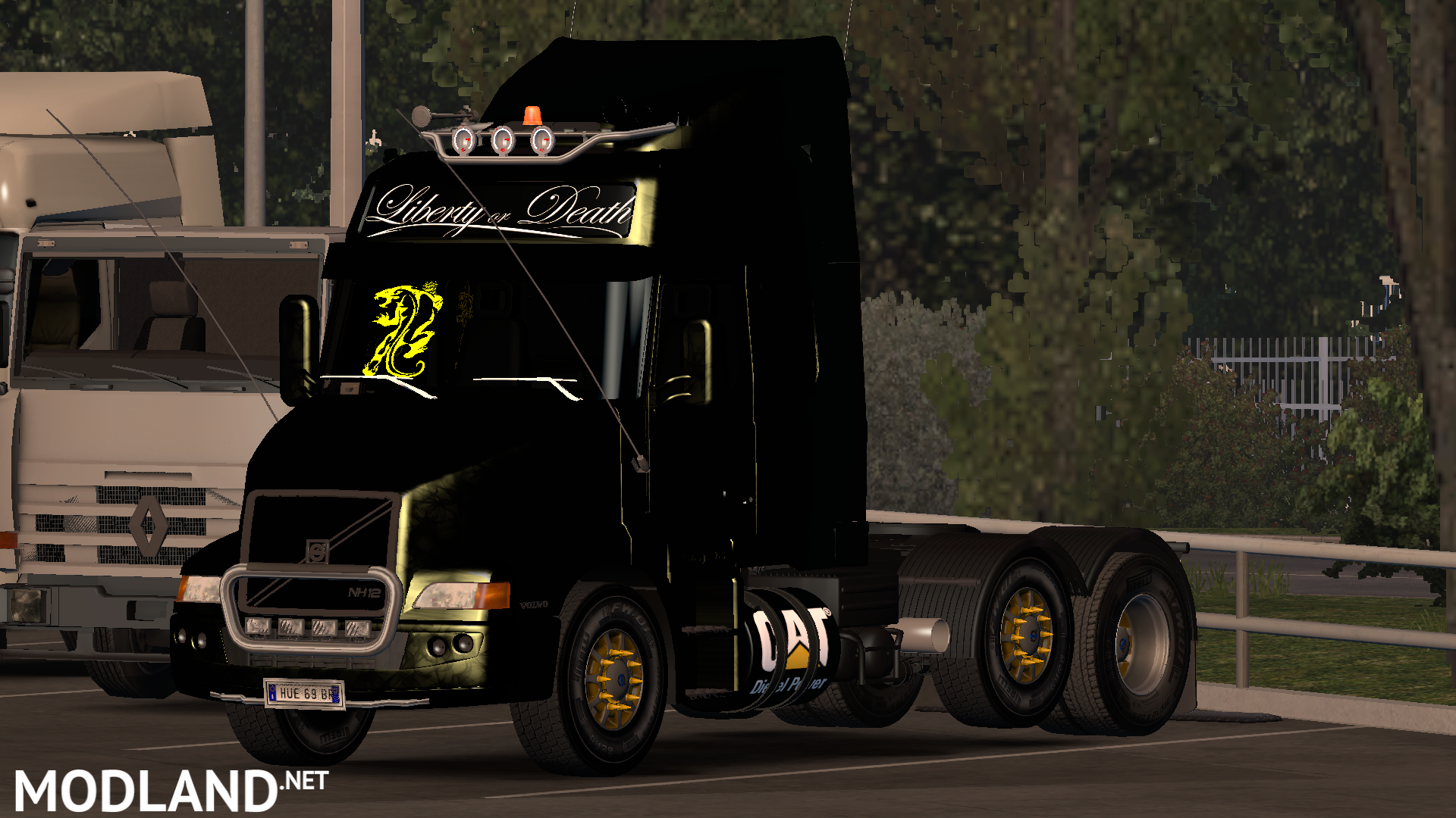 Volvo NH-12 v 1 1 by Cp MorTifIcaTioN ETS2 1 27~1 28 mod for