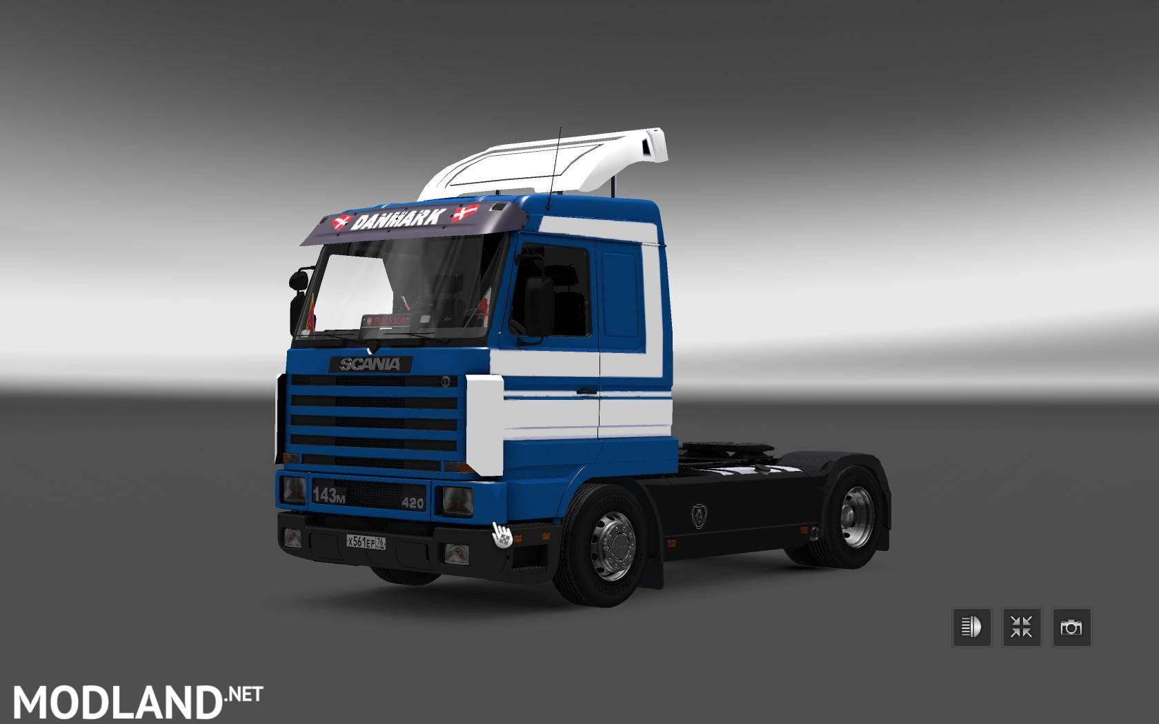 Scania 143 Trailer Shmitz Mod For Ets 2
