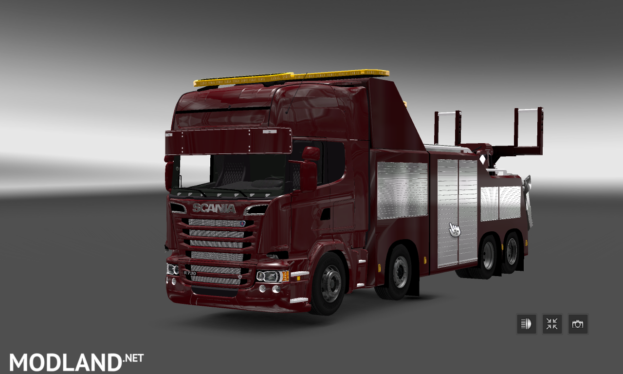 Scania Tow Mod For Ets 2