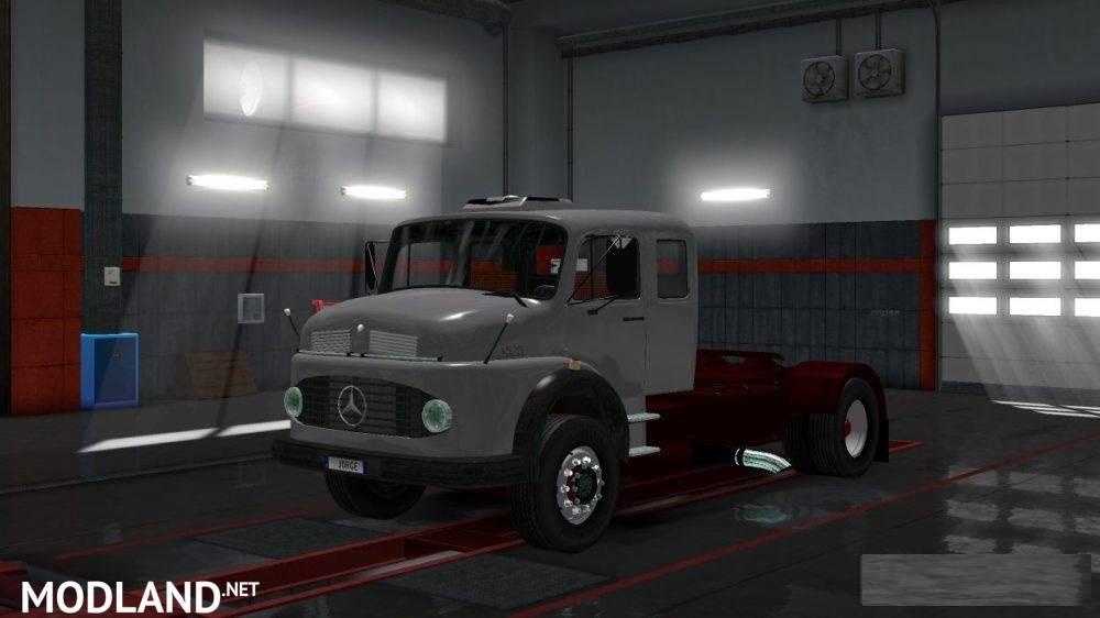 Mercedes Benz 1519 1.28 mod for ETS 2