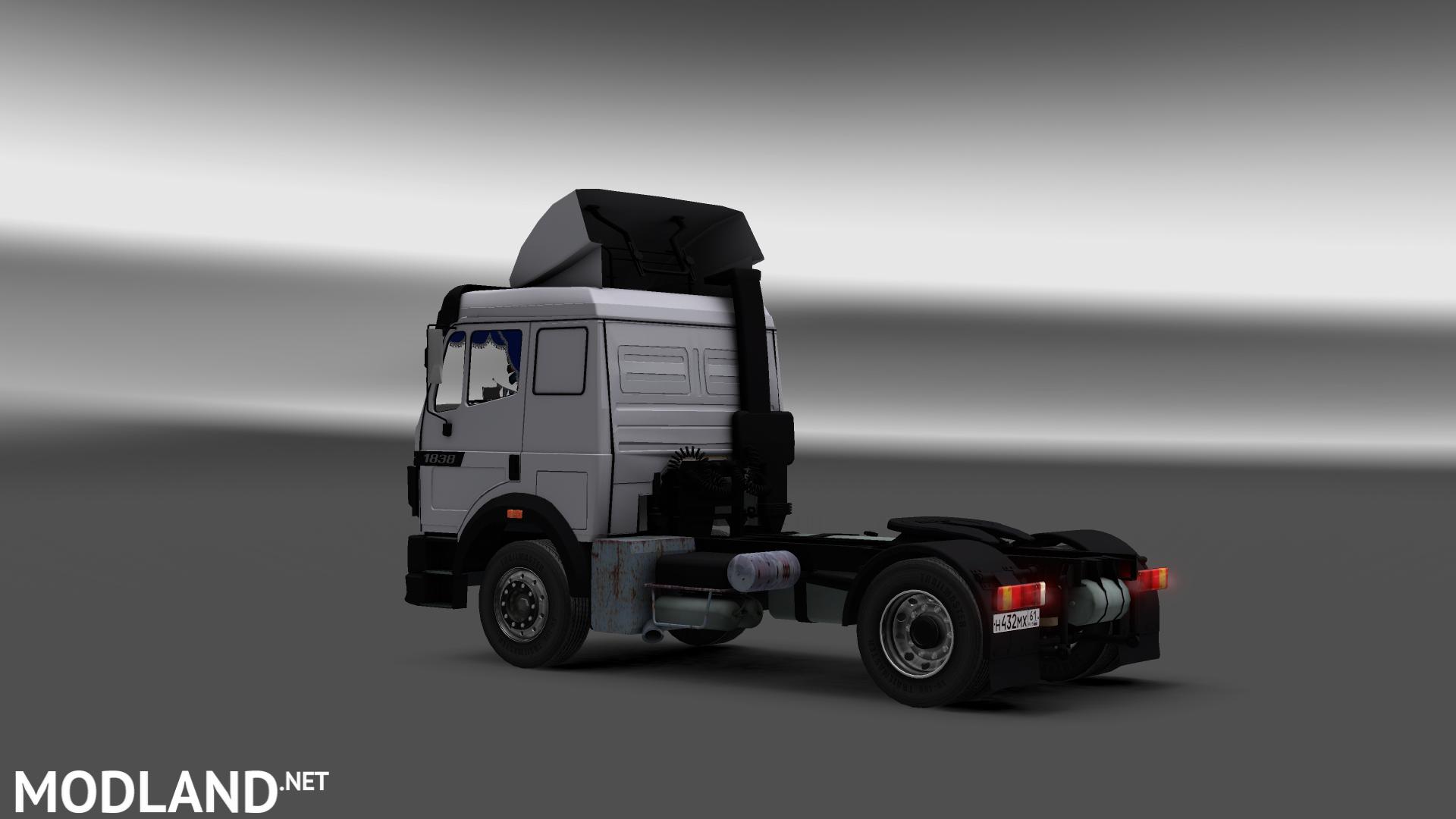 Mercedes Sprinter Png >> Mercedes Benz SK 1838 LS & Interior mod for ETS 2