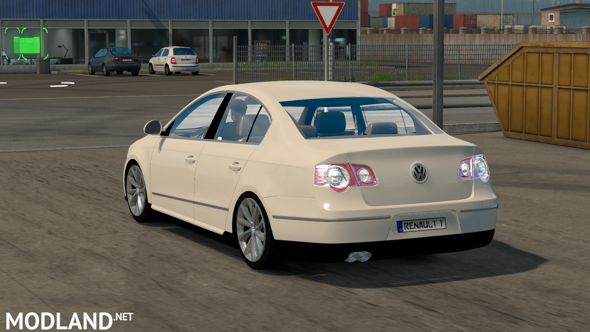 volkswagen passat b6 mod for ets 2. Black Bedroom Furniture Sets. Home Design Ideas