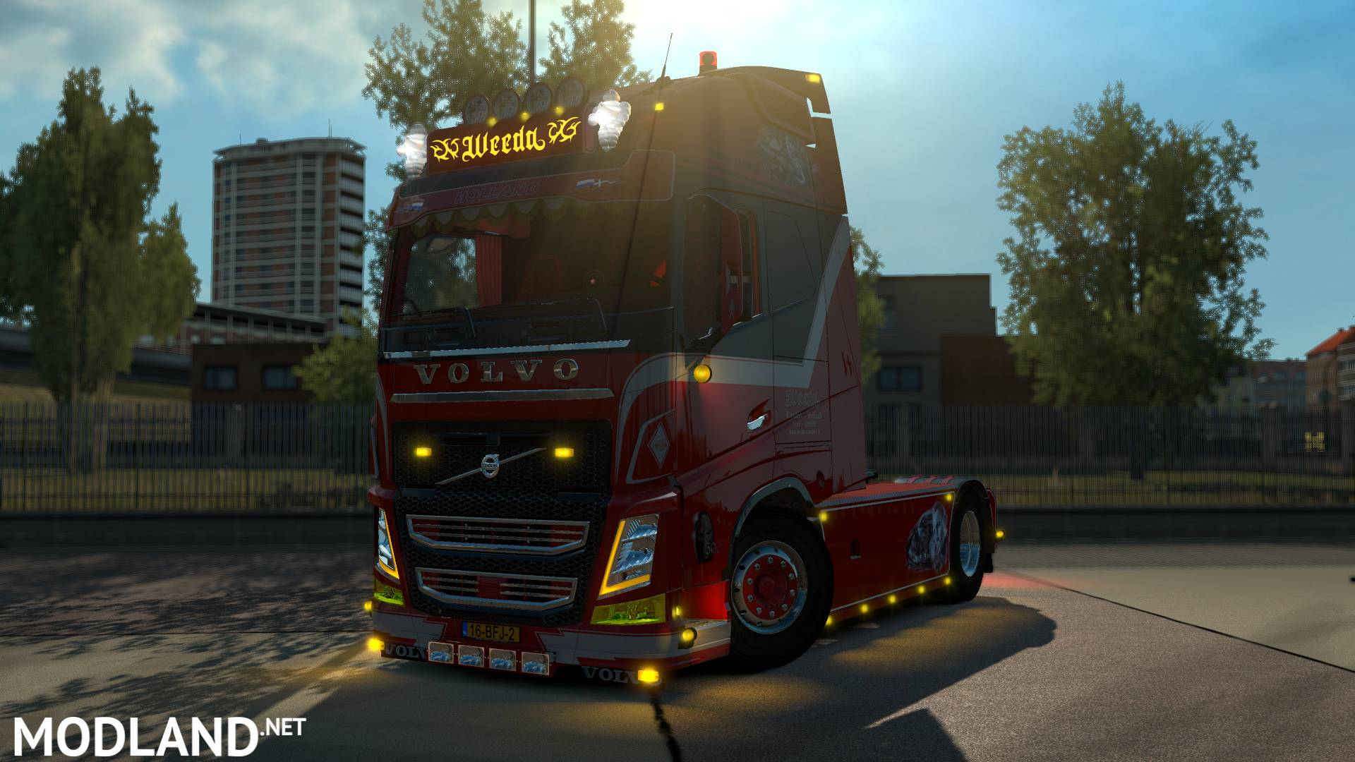 Volvo Fh Weeda 1 31 X Mod For Ets 2