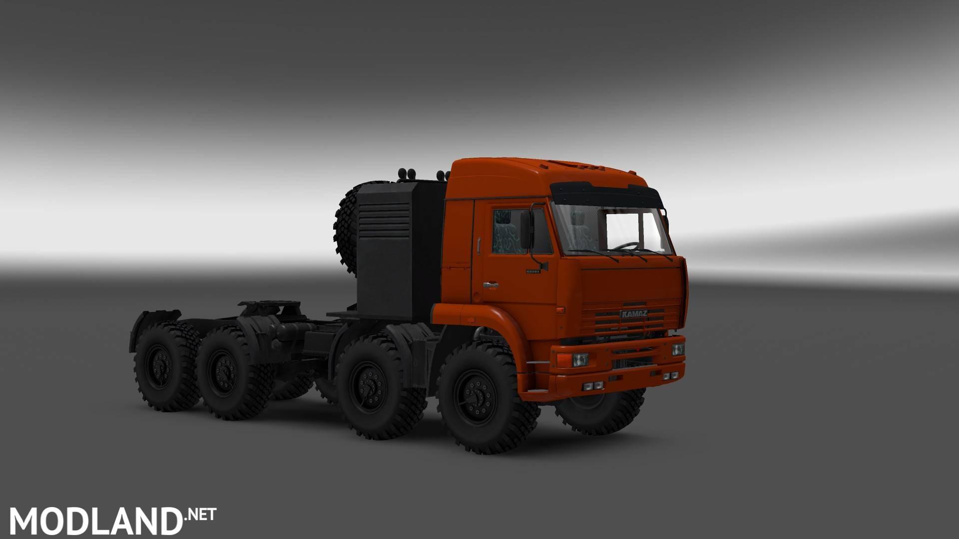 Kamaz 54-64-65 Offroad Mod For ETS 2