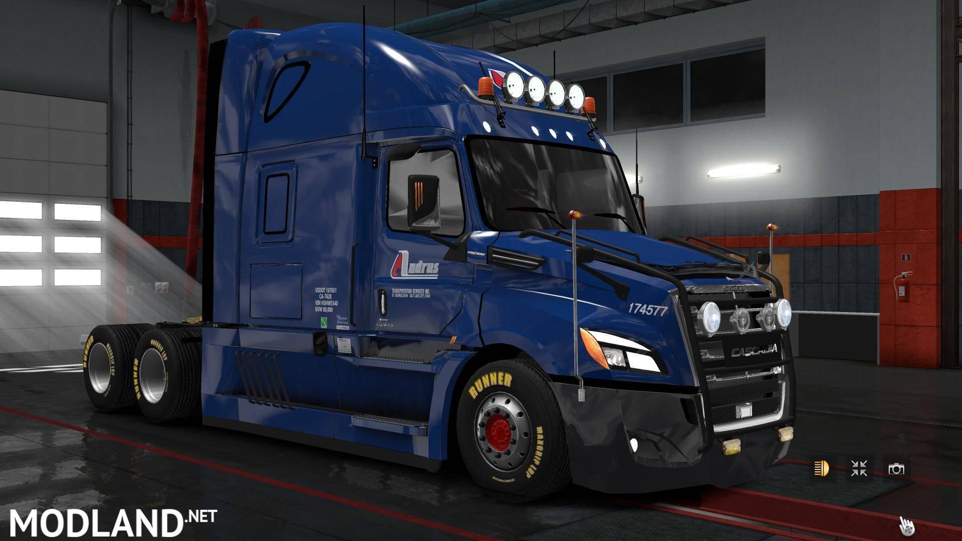 Freightliner Cascadia 2018 v4 4 mod for ETS 2
