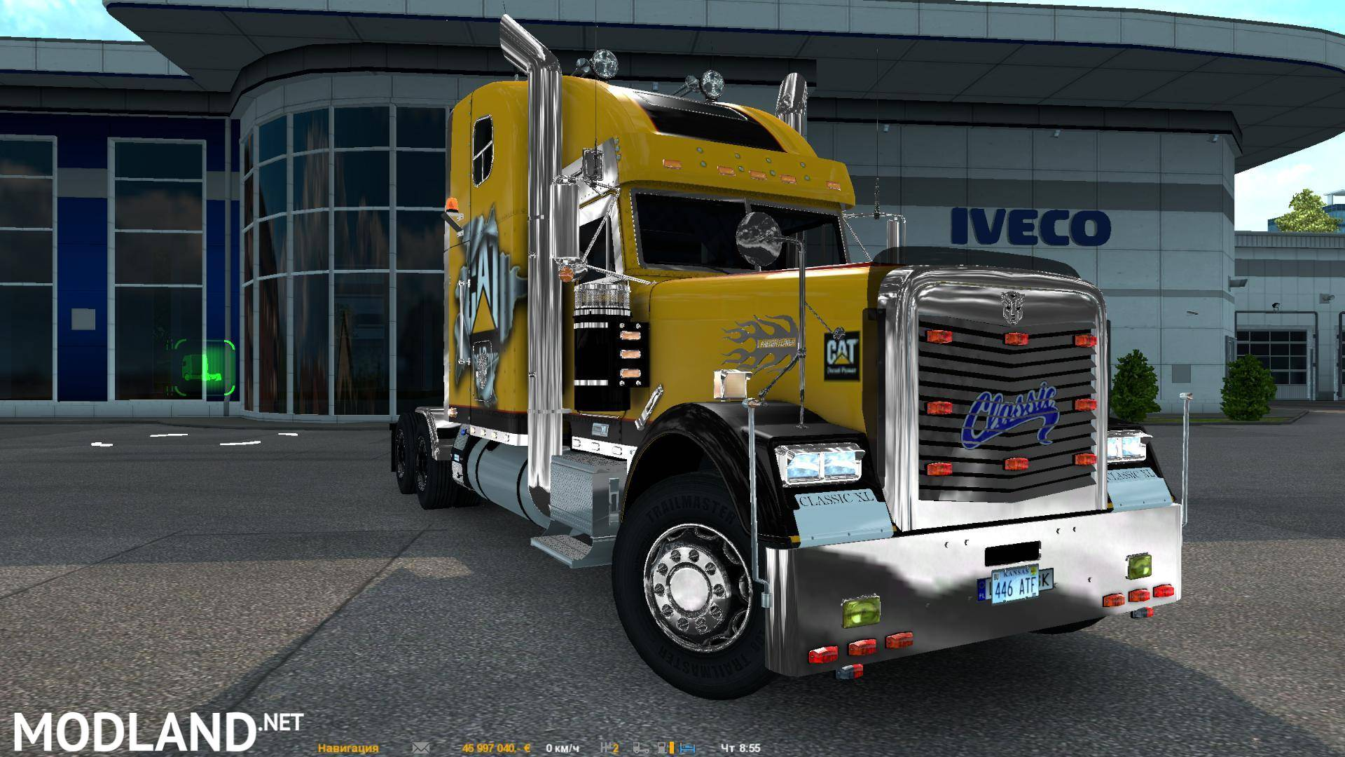 Freightliner Classic Xl Custom For 1 25 Mod For Ets 2