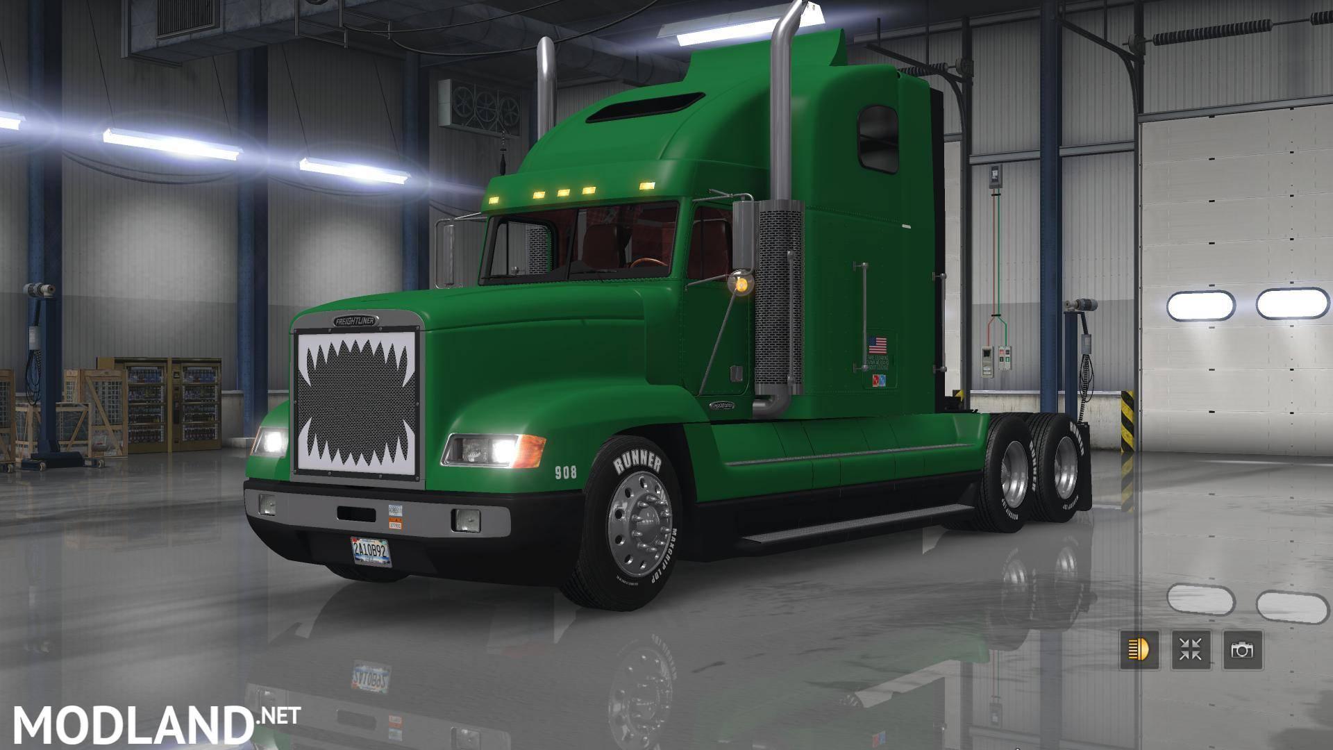 Freightliner Fld Reworked 1 27 Mod For Ets 2