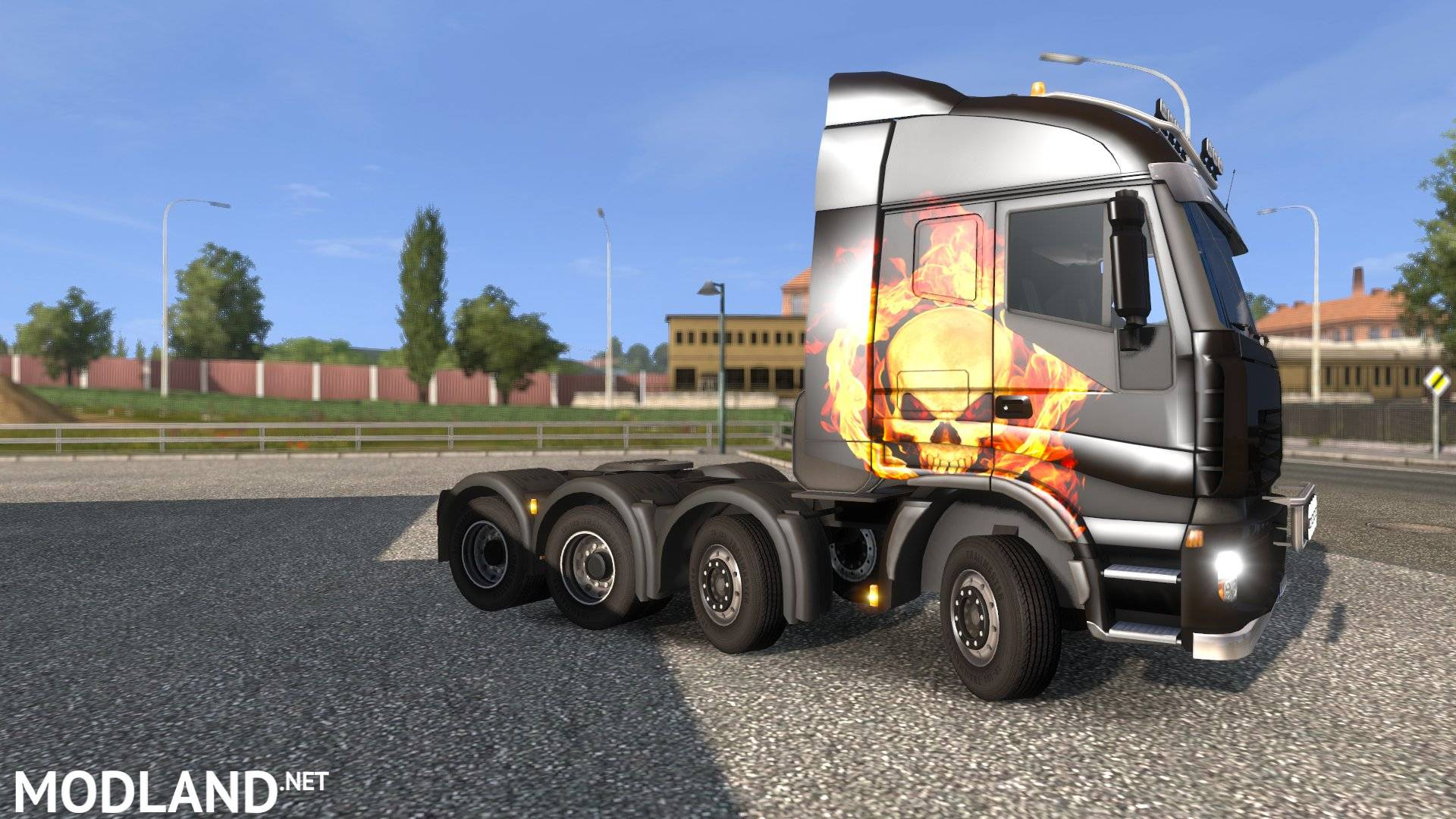 Volvo Truck Center >> Iveco Stralis Skin mod for ETS 2