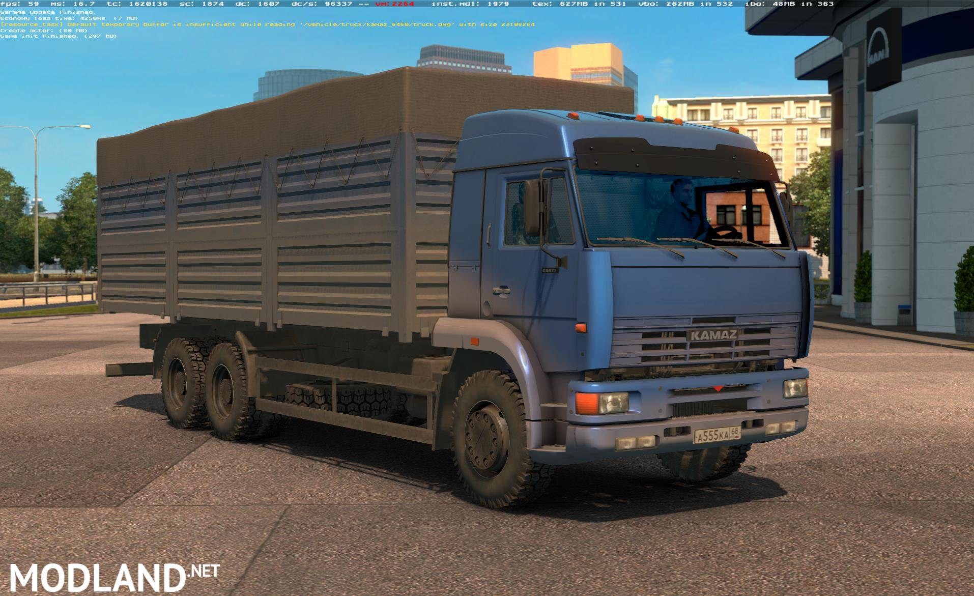Kamaz 54 64 65 Bykoral V1 1 1 22 Mod For Ets 2