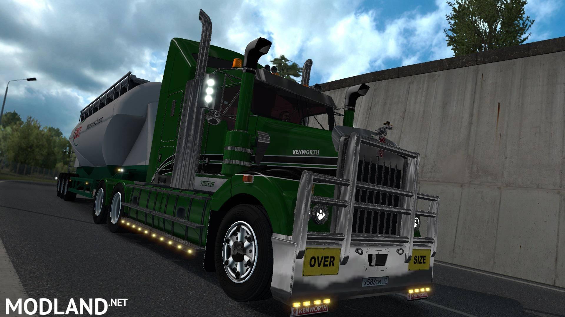 Kenworth T408 SAR v2 2 v1 35 x + dx11 mod for ETS 2