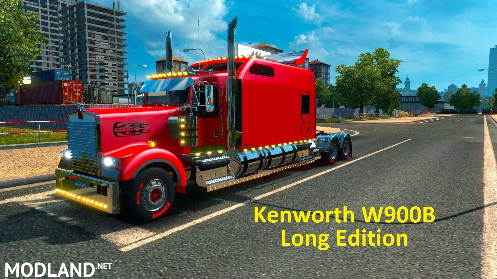 Kenworth w900b long edition fixed by h trucker 1 photo