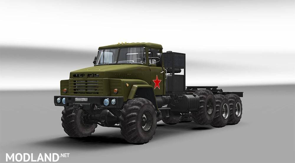 Скачать мод краз euro truck simulator 2