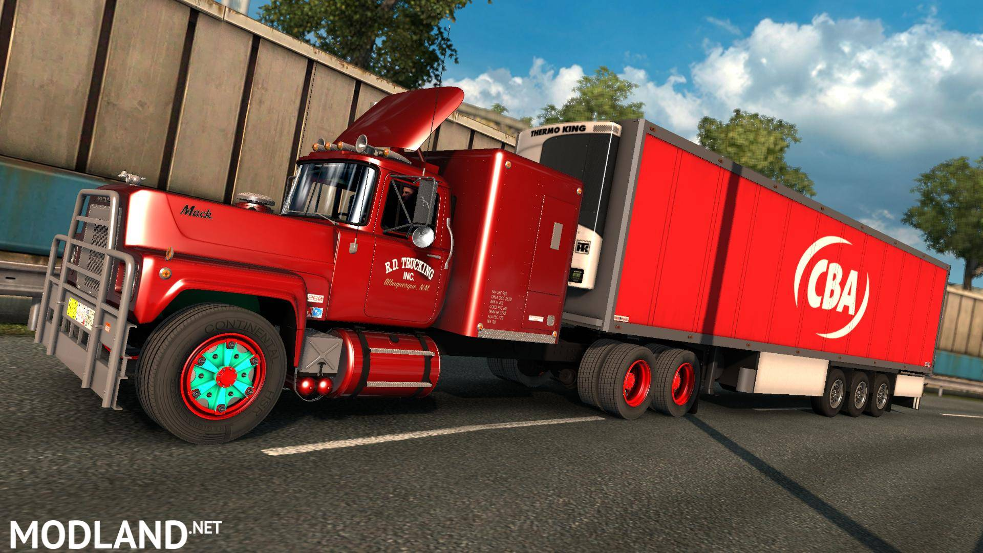 MACK RS-700 Rubber Duck mod for ETS 2