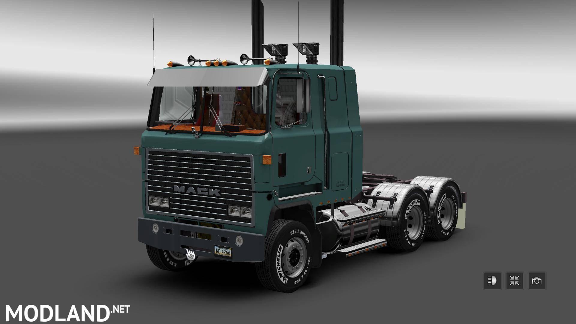 Mack Ultraliner V1 1 For V1 24 Mod For Ets 2