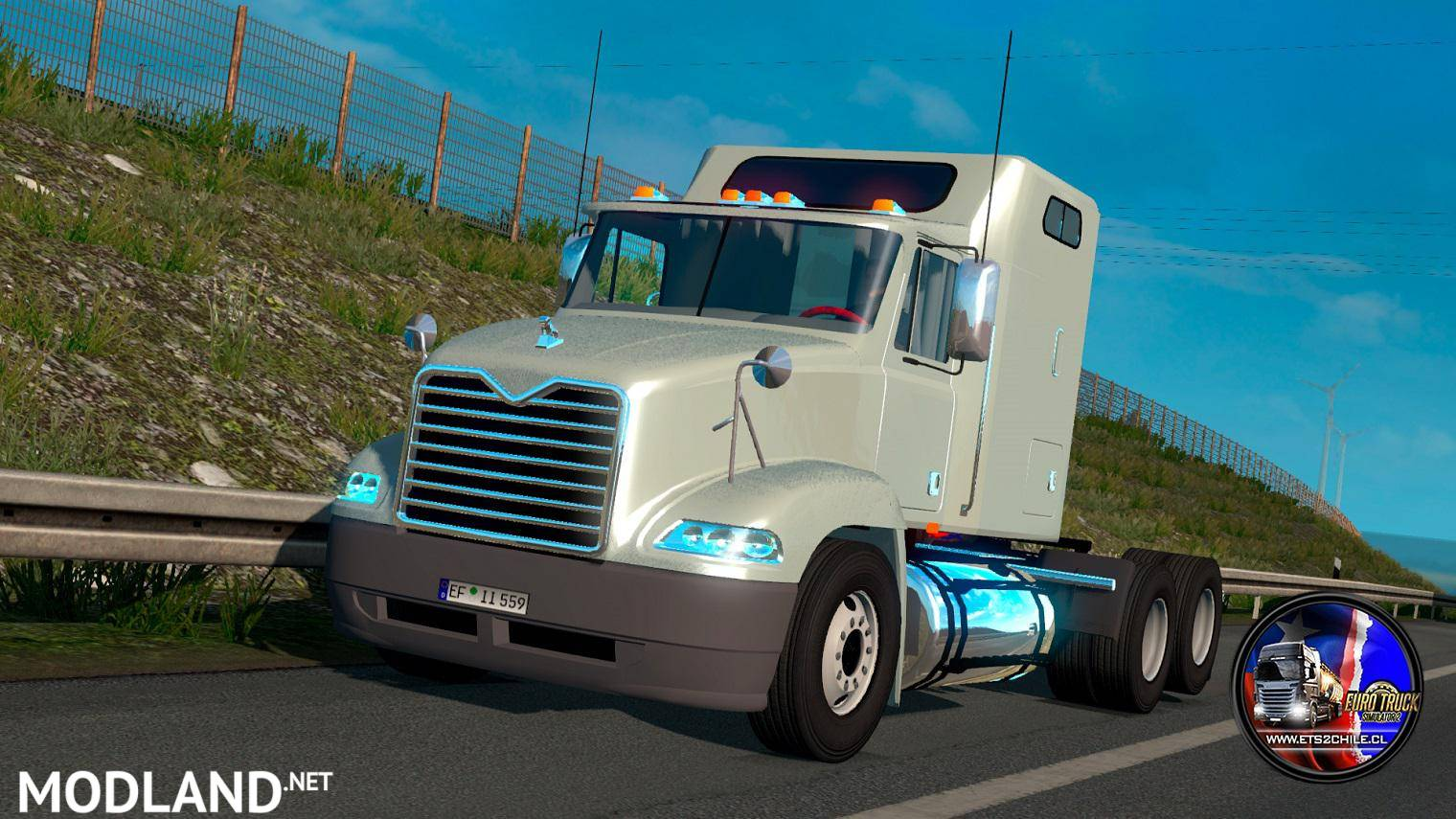 Mack Vision 1 35 x mod for ETS 2
