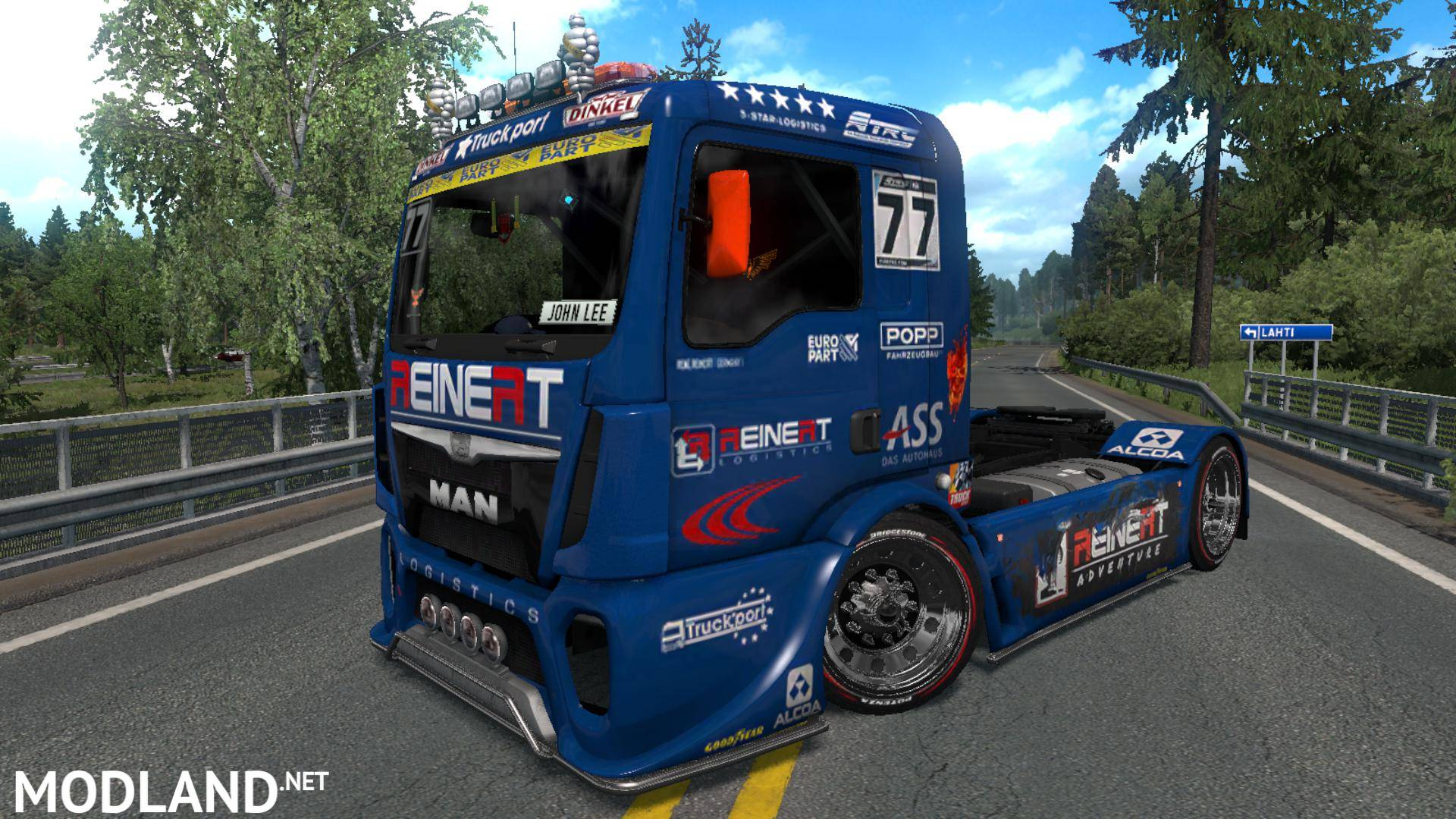 MAN ETRC by JohnLee v1 34 mod for ETS 2