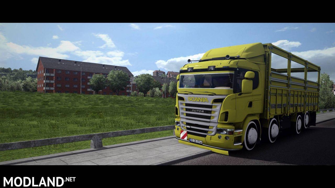 Scania G420 8x2