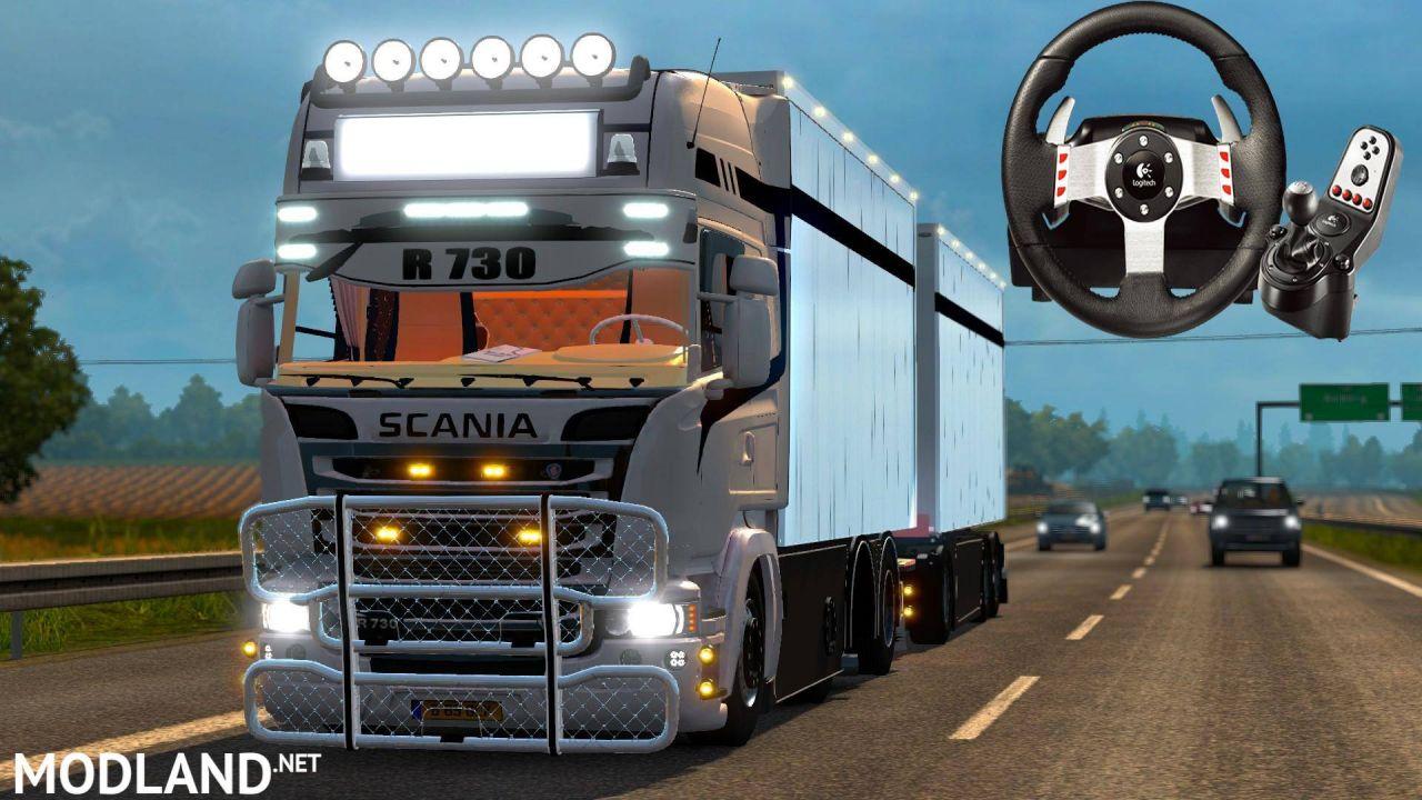 Scania Streamline Tandem R730 1.18.x
