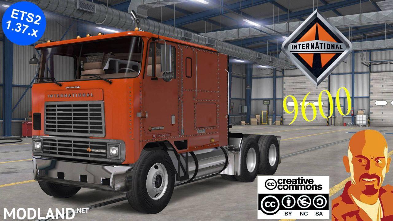INTERNATIONAL 9600 REWORKED ETS2 1.37.x