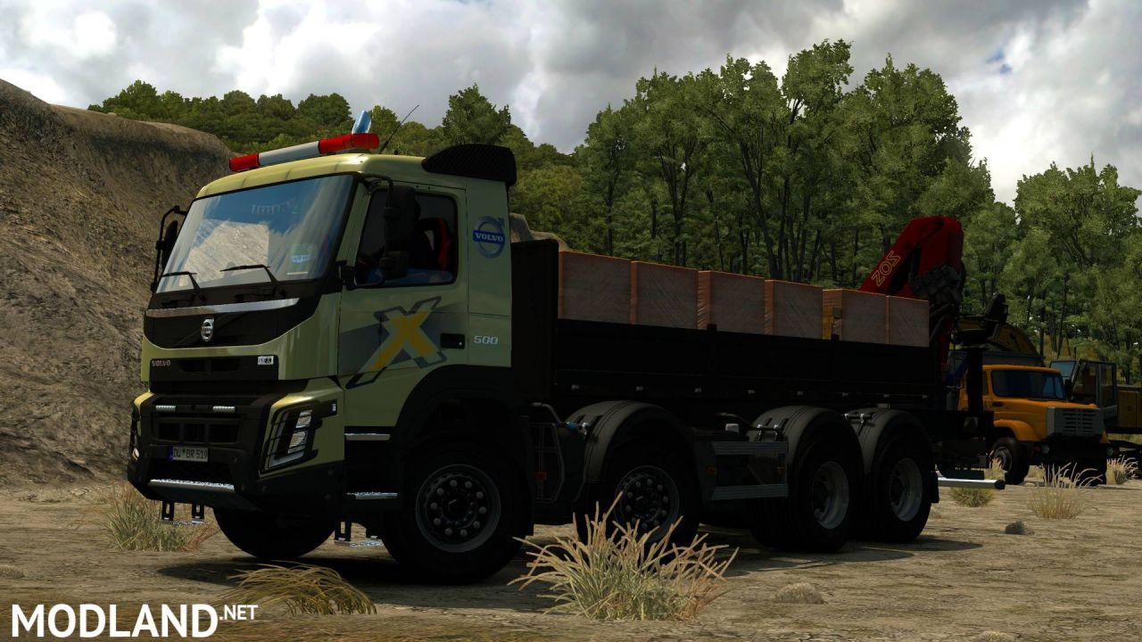 Volvo FMX Kipper Rework by Mistersix 1.8 1.36, 1.37