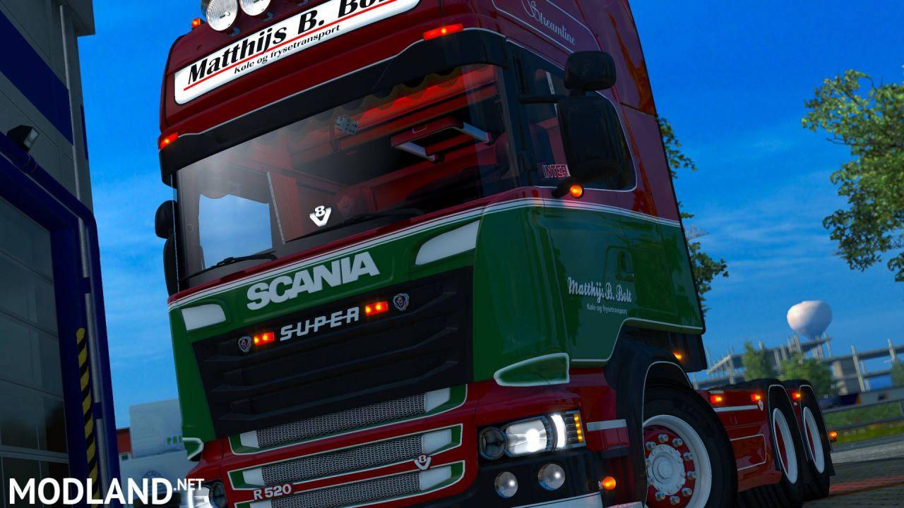 Scania R520 Matthijs B.Bolt