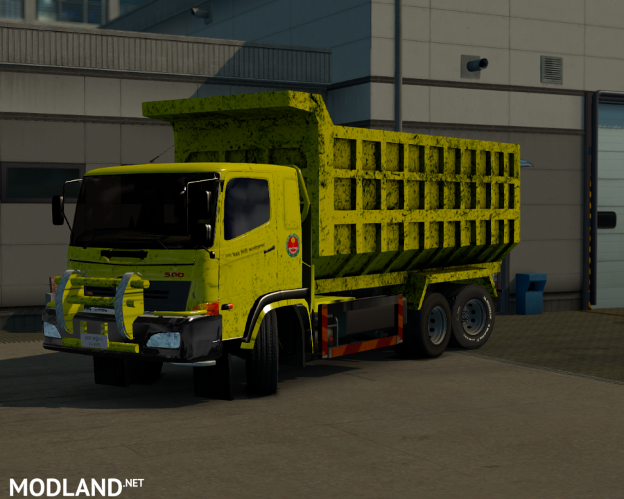 Hino Truck Mod For 1.31.x